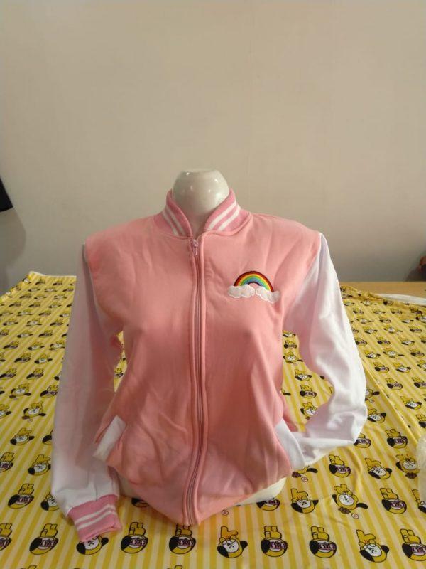 chompa unicornio rosado