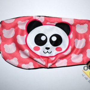 cubrebocas oso panda