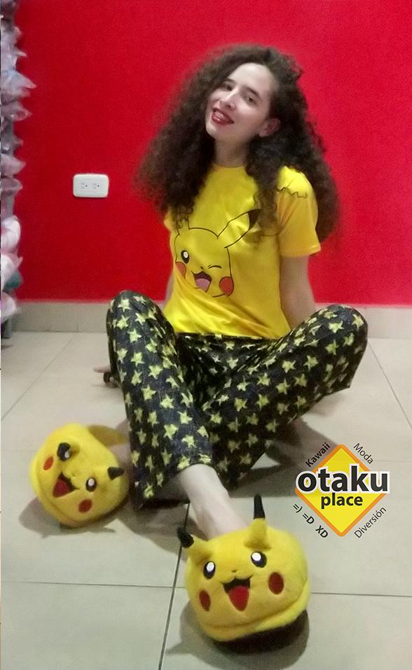 Pijama Pikachu pantalón - Otaku Place