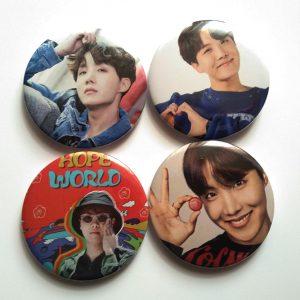 botones J hope