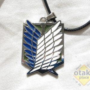 Shingeki no Kyojin collar metálico