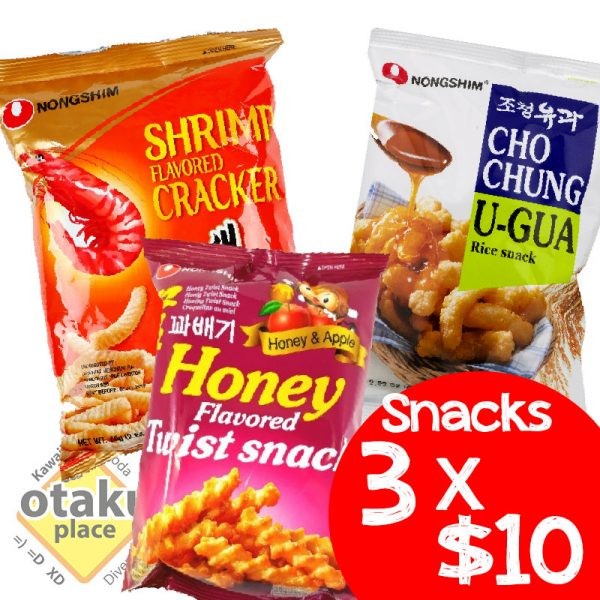 snacks coreanos